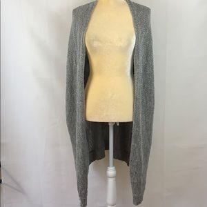 Vintage She & Sky Open Front Knit Cardigan Poncho